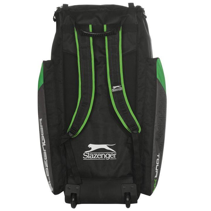 67e822f6ab Slazenger Tour Wheelie Duffle Bag Black/Green